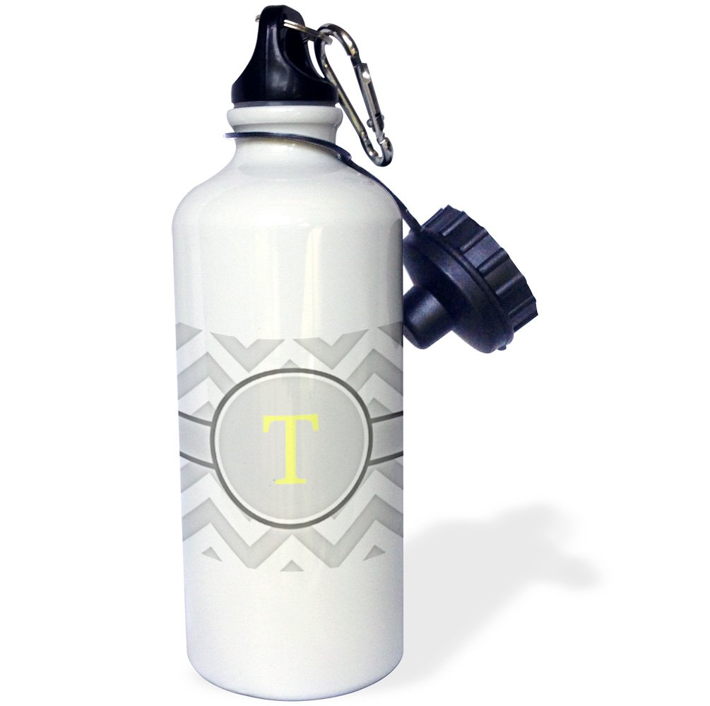 White 3dRose wb/_222122/_1 Made in America with French parts Sports Water Bottle 21 oz