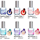 LeChat Perfect Match Gel Polish Mood Changing Colors Spring 2016 Set of 6 Colors