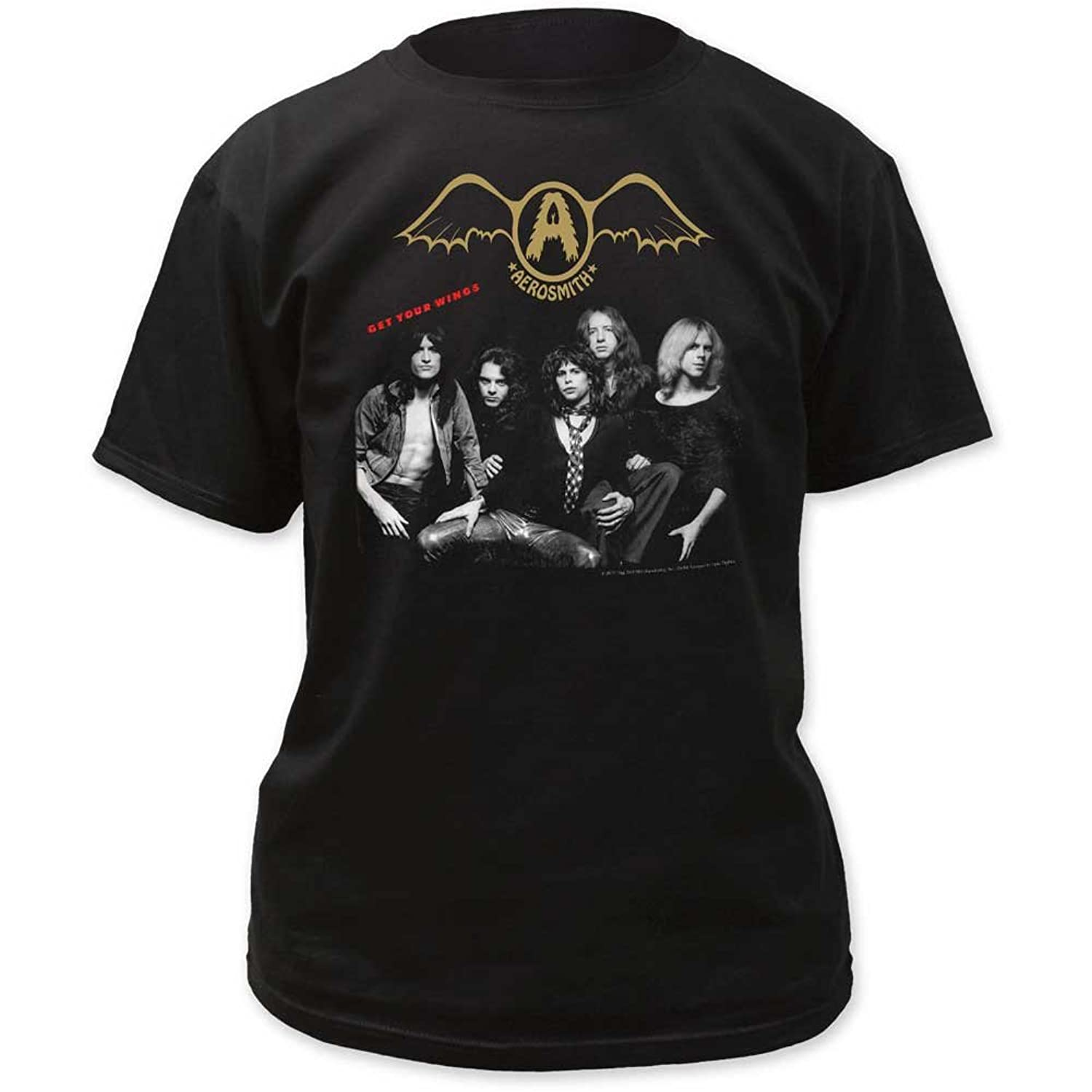 Aerosmith - Mens Get Your Wings Adult T-Shirt