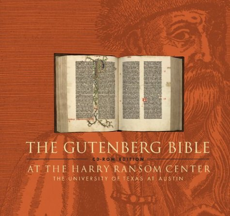 The Gutenberg Bible at the Harry Ransom Center: CD-ROM Edition (Latin Edition)