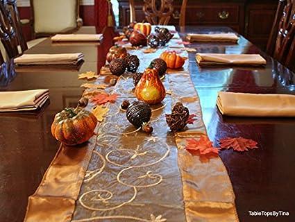 De Acción De Gracias Decoración De La Mesa Elegante Decoraciones