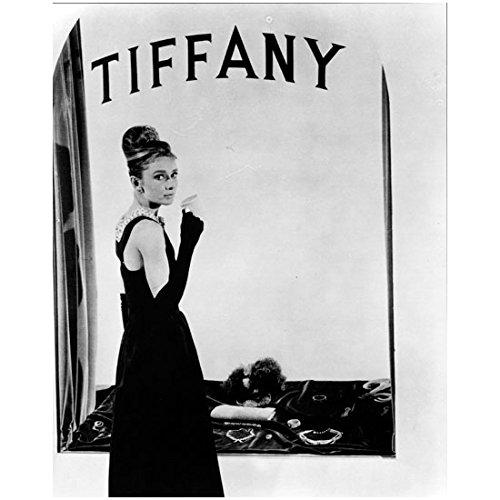 Audrey Hepburn Dress My Fair Lady (Audrey Hepburn Breakfast at Tiffany's in Black Dress Drinking Coffee 8 x 10 Photo)