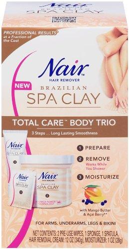 Amazon Nair Brazilian Spa Clay Total Care Body Trio 12 Ounce