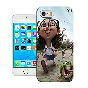 LarryToliver Deluxe Style iphone 5/5s Hard Case Cover for Customizable 3D art