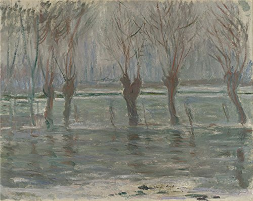Famous Art Inspired Halloween Costumes (The Polyster Canvas Of Oil Painting 'Claude Oscar Monet Flood Waters ' ,size: 8 X 10 Inch / 20 X 26 Cm ,this Replica Art DecorativeCanvas Prints Is Fit For Bathroom Decor And Home Gallery Art And Gifts)