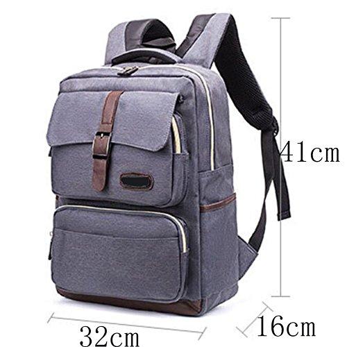 Leisure Travel function Waterproof Brown Large Bag Multi Dhfud Backpack Capacity 7tqq5