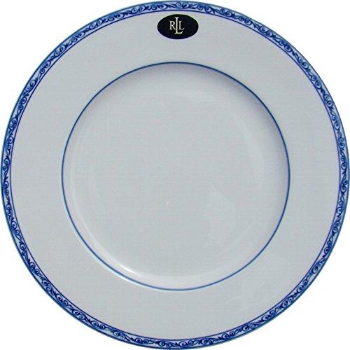Ralph Lauren Mandarin Dinner Plate, Set of 4, Blue & Whit...