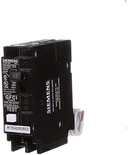 Siemens QF115P Ground Fault Circuit Interrupter Type QPF