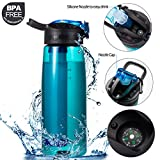 Best Filtered Water Bottles - DoBrass Super Filtered Water Bottle for Hiking, Travelling Review