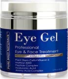 Pure Body Naturals Eye Cream for Dark Circles and Puffiness – 1.7 fl oz
