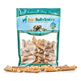 Cheap Best Bully Sticks Bully Stick Bites (2lb.Value Pack) All Natural Dog Treats