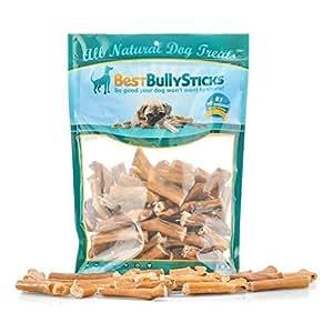 bully stick bites by best bully sticks 2lb value pack all natural dog treats. Black Bedroom Furniture Sets. Home Design Ideas