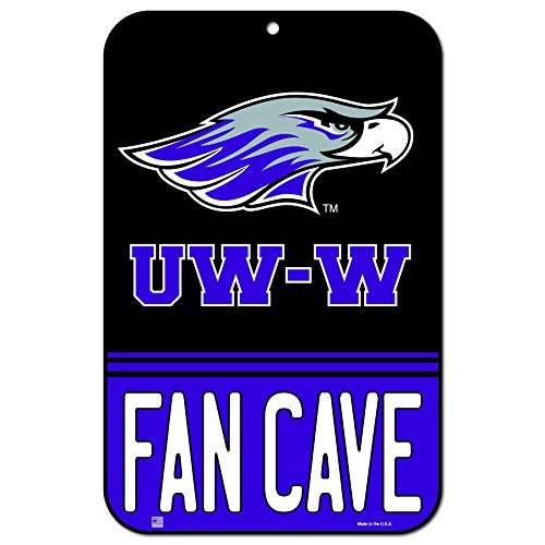 """WinCraft Whitewater Warhawks Official NCAA 11"""" x 17"""" Fan Cave Plastic Wall Sign 11x17 050908 from WinCraft"""