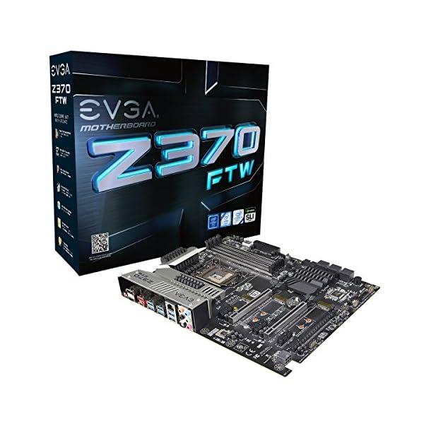 EVGA Z370 FTW, LGA 1151, Intel Z370, HDMI, SATA 6Gb/s, USB 3.1, USB 3.0, ATX, Intel Motherboard 134-KS-E377-KR