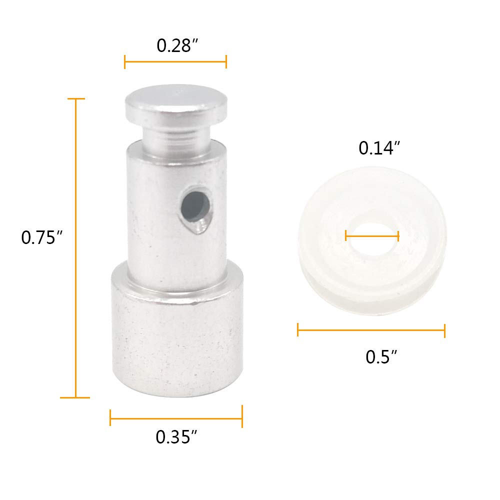 Ultra 3 8 Qt Alamic Replacement Float Valve for Instant Pot Duo 3 2 Float Valves 4 Silicone Caps 5 6 Lux 3 Qt 6 Qt Duo Plus 3 6 Qt