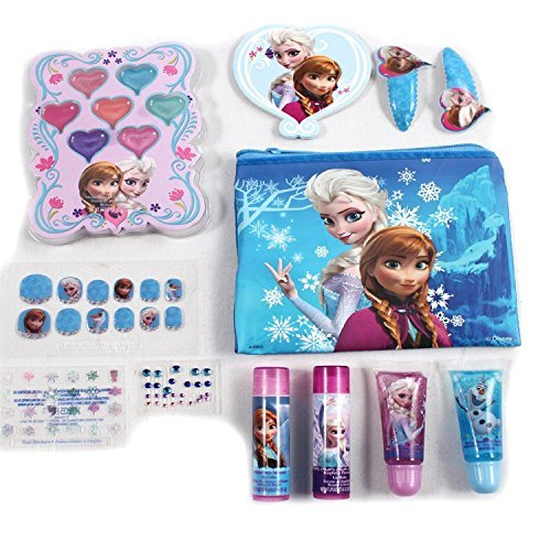 Disney's Frozen Beauty Cosmetic Bundle Set for Kids - Fun Play Kit
