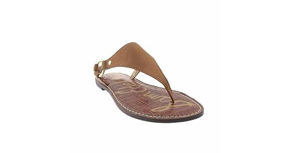 ff8f6e54d988 comSam Edelman Women s Greta Golden Caramel Wayne Nubuck Leather Sandal 6 M