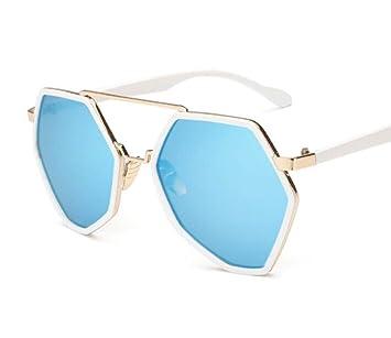 Mode Persönlichkeit Sonnenbrille, Farbe film Gläser, grosse Sonnenbrille