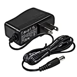 iMBAPrice 9V DC Wall Power Adapter UL Listed Power Supply (5-Feet, 9V 0.5A(500mA))