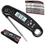 Digital Meat Thermometer for Grilling, IP67 Waterproof Kitchen Cooking Thermometer with Highly Sensitive