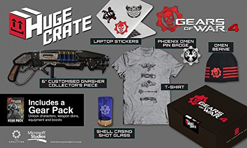 Gears of War 4 Huge Crate Exclusive Merchandise Pack w/ Shirt (Large)