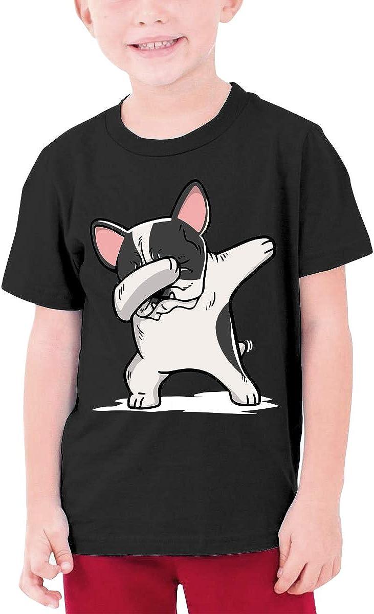 DH4/_8J Funny Dabbing Pied Junior Boys /& Girls Teen Boys Crew Neck T Shirt
