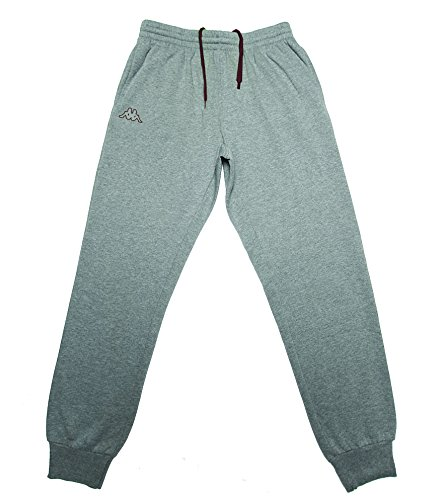 kappa-mens-vasyle-sport-fleece-pant-light-grey-melange-small