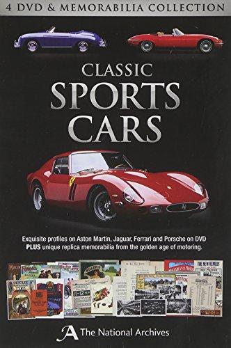 Classic Sports Cars (4 DVD & Memorabilia Collection)