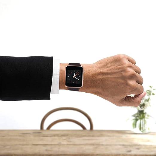 Amazon.com: Reloj inteligente con pantalla táctil a color ...