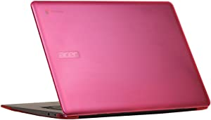 "mCover Hard Shell Case for 15.6"" Acer Chromebook 15 CB515 Series (NOT Compatible with Older C910 / CB5-571 / CB3-531 Series) Laptop (Pink)"