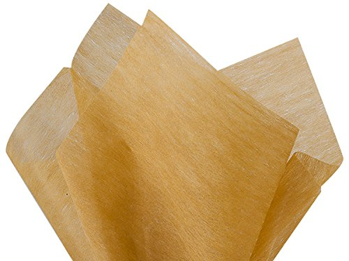 """Antiquegold Non-Woven Tissue Sheets 10 Sheet Pack ~ 20""""x26"""" Sheets A1bakery Supplies use for Flowers,Bouquet"""