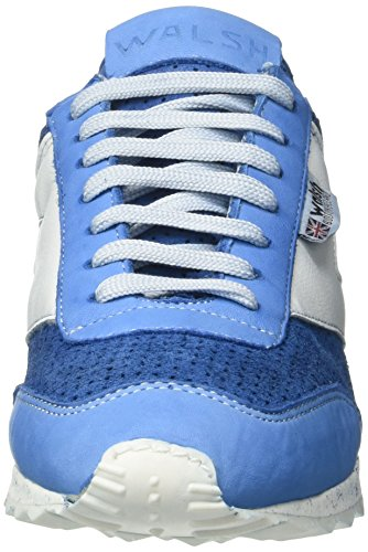 Walsh Deluxe, Scarpe da Basket Uomo Blu (Azure Suede)