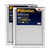 Filtrete 14x30x1, AC Furnace Air Filter, MPR 1900, Healthy Living Ultimate Allergen, 2-Pack