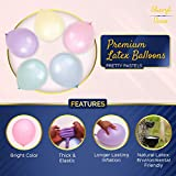 200 Small Pastel Balloons for Parties – 5 Inch
