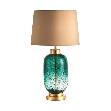 Lampara de mesa Vidrio lámpara de mesa lámpara de cabecera ...