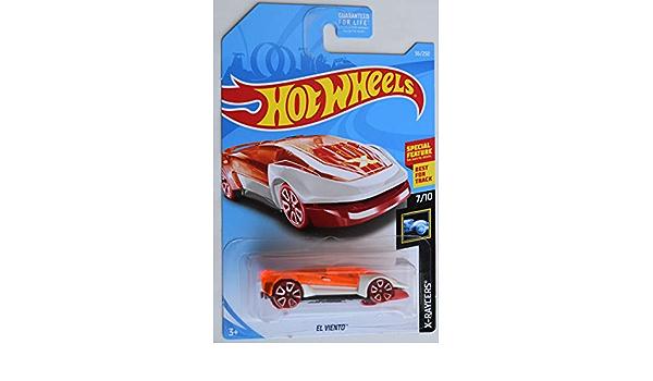 Hot Wheels 2019 #36//250 White Orange El Viento X-Raycers
