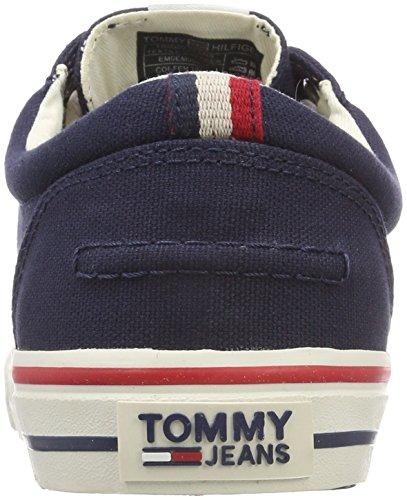Tommy Hilfiger Plátenky Em0em00001 Bläck Em0em00001 006 - Em0em00001006 Marinblå