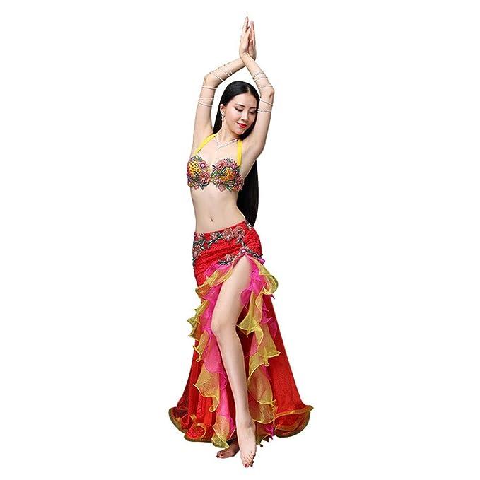 Amazon.com: YEERONG - Traje de danza para el vientre, para ...