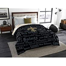 NFL Anthem Twin/Full Bedding Comforter Only, New Orleans Saints