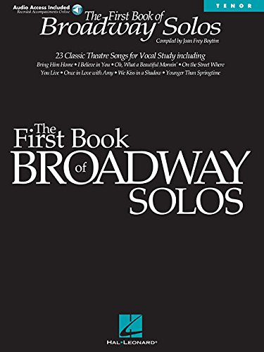 First Book of Broadway Solos: Tenor Edition