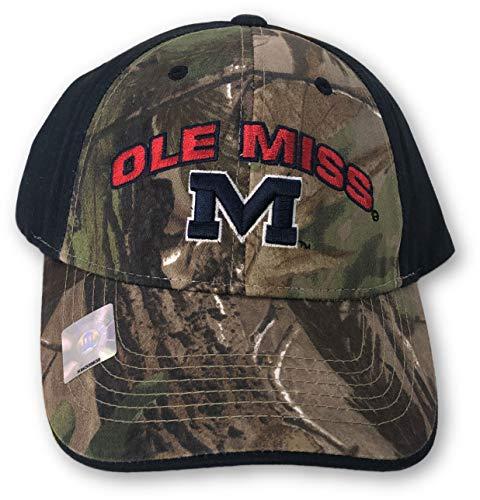 b1ec2e647de4d Mississippi Rebels Camouflage Caps. Outdoor Cap Ole Miss ...