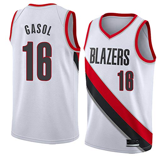 K&A Camiseta PAU Gasol Portland Trail Blazers Blanco ...