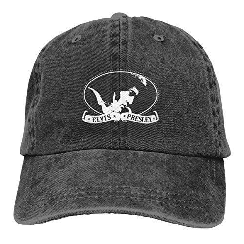 Obagaty Elvis Presley Vintage Trucker Hats Cowboy Baseball Caps