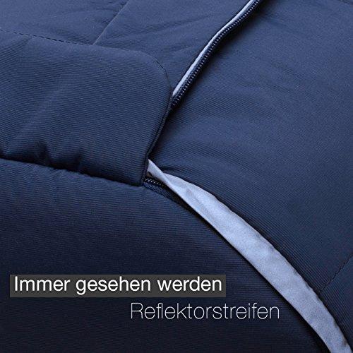 Saco cubrepiernas universal de piel de cordero (curtido medicinal) para invierno de CHRIST - también como manta para carrito de bebé o silla de paseo ...