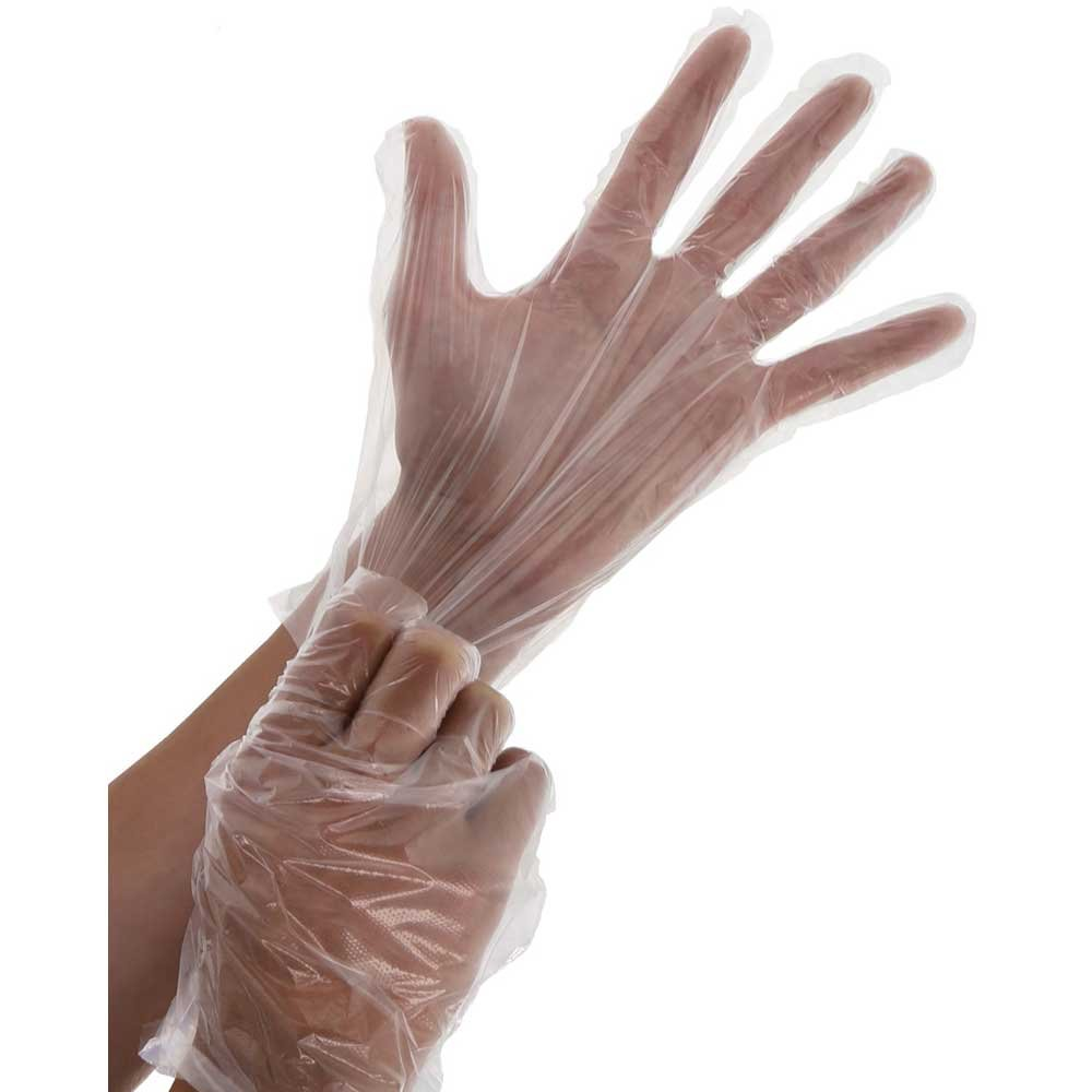 Royal Premium Poly Extra Large Gloves, 500 count per pack -- 4 per case.