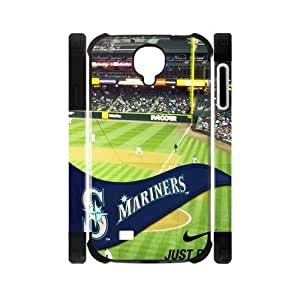 MLB Seattle Mariners Samsung Galaxy S4 I9500 Double Hard Cover Case-Nike Just Do It Snap On