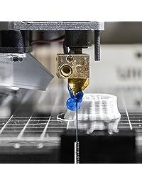 15 piezas impresora 3d Kit de herramientas de limpiador de boquilla de brocas 1.3 foot Agujas y Kit de herramientas de pinzas por mika3d