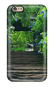 Awesome Case Cover/iphone 6 plusd 5.5 Defender Case Cover(nature Green Road Japan Hd L A)