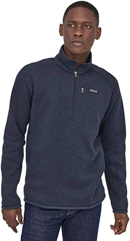 PATAGONIA Men/'s Better Sweater 1//4 Zip