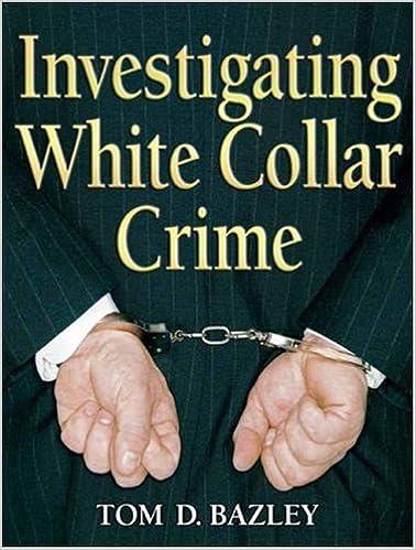 Investigating White Collar Crime